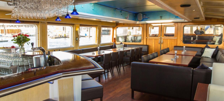 Silvester auf dem Schiff Grosser Michel  6