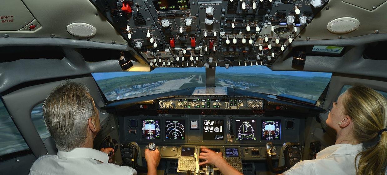 Flugsimulator Stuttgart simINN 12