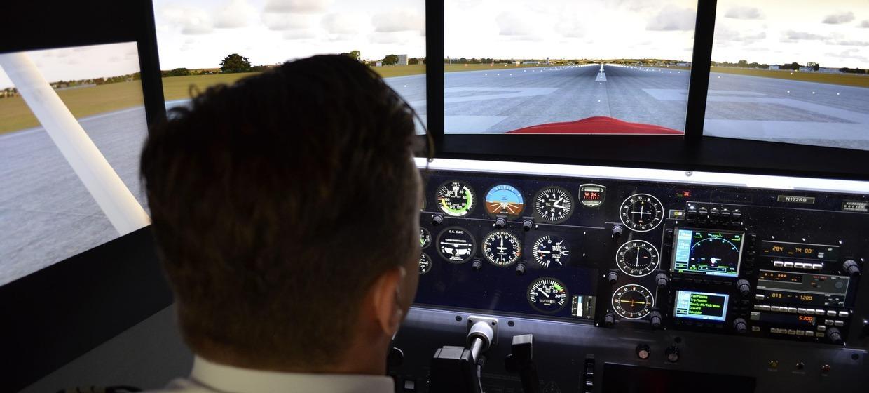 Flugsimulator Stuttgart simINN 5