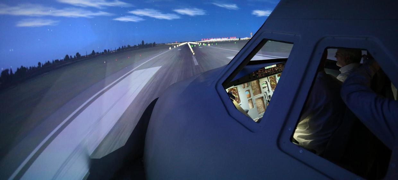 JetSim A320 Flugsimulator 7