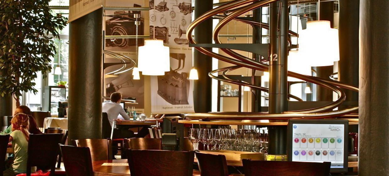 Schwerelos - das Achterbahn Restaurant Hamburg 1