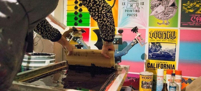 Die Mobile Siebdruckwerkstatt  1