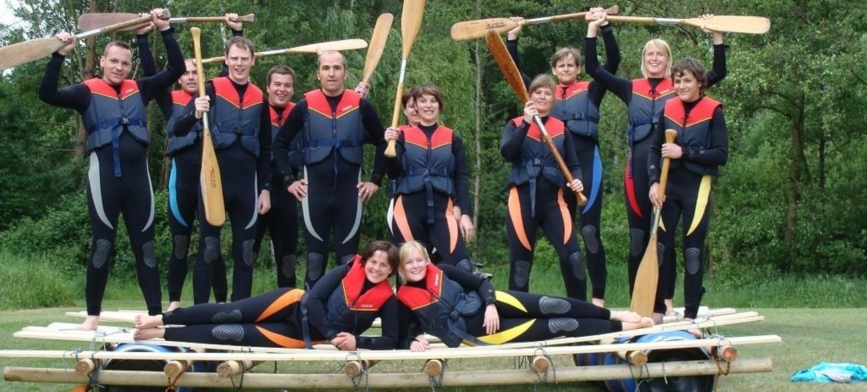 Teamevent mit Floßbau 6