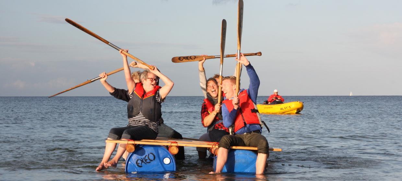 Teamevent mit Floßbau 7