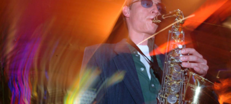 Niklas I Saxophon zum DJ  7