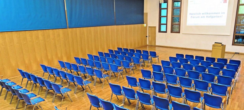 Forum am Hofgarten - Tagungs- und Kongresszentrum 5