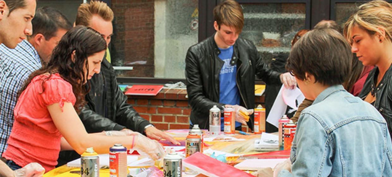 Streetart - Workshop Hamburg 5