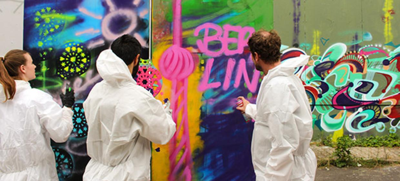 Streetart - Workshop Hamburg 1