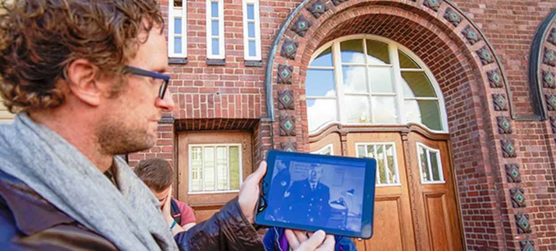 videoTabletTour - Auf den Spuren berühmter Filme Hamburg 4