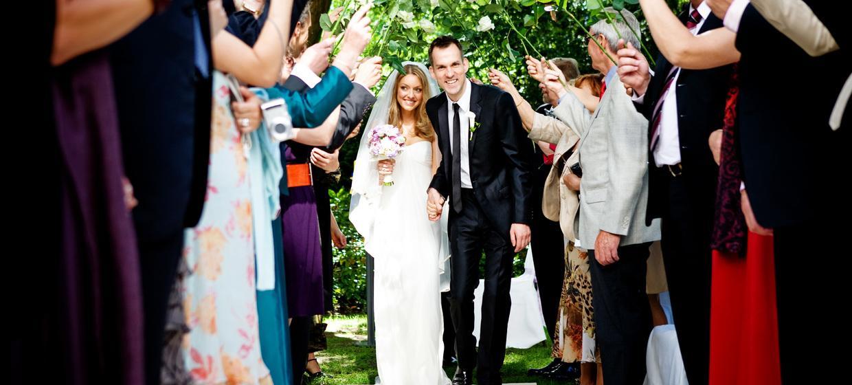 Hochzeit unter alten Bäumen 1