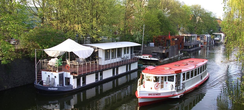 Wohnschiff Peissnitz 1