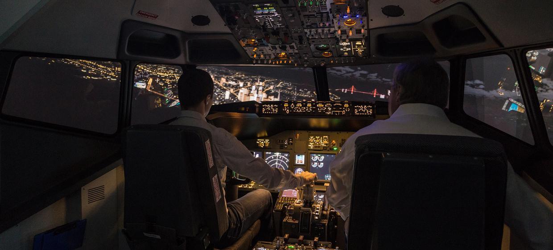 Flugsimulator Rostock 4