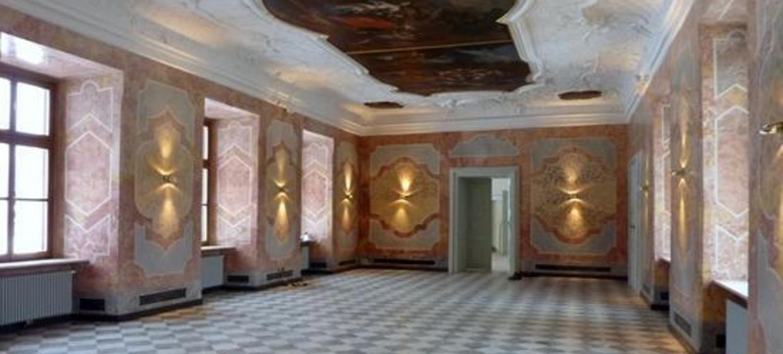 Historische Räume in Stift Rein 1