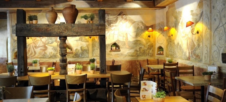 Europapark Pizzeria Venezia mit Restaurant Mille Fleurs 2