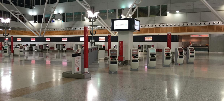 Media Frankfurt Promotion Point, Ankunftshalle E,öffentlicher Bereich, Ebene 2 1