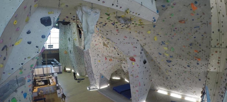 The Rock Karlsruhe: Kletterhalle The Rock in Karlsruhe
