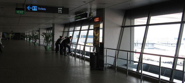Media Stuttgart Flughafen Promotionfläche Terminal 3 öffentlicher Abflugbereich, Ebene 3  1