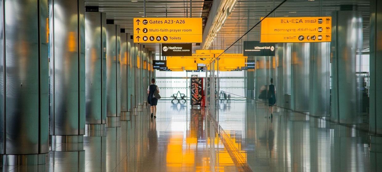Media Stuttgart Flughafen Promotionfläche Terminal 3 öffentlicher Ankunftsbereich, Ebene 2 1