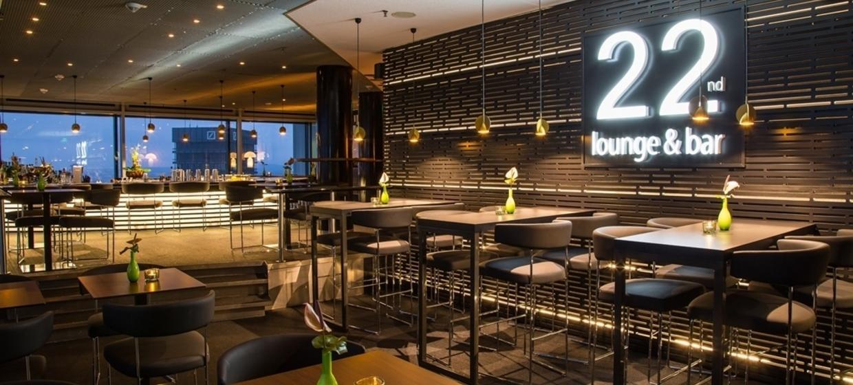 22ND BAR & LOUNGE im Innside Frankfurt Eurotheum 1