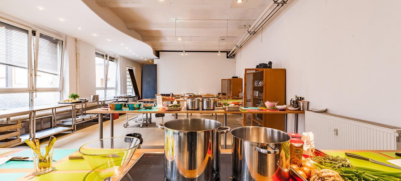 Pop-Up Kitchen in der Krugstraße  1