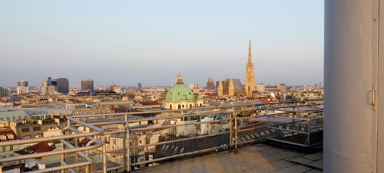 Panoramaraum im Hochhaus Herrengasse 11