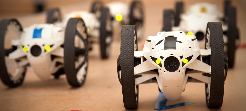 Drohnen-Rennen und Streckenbau 2