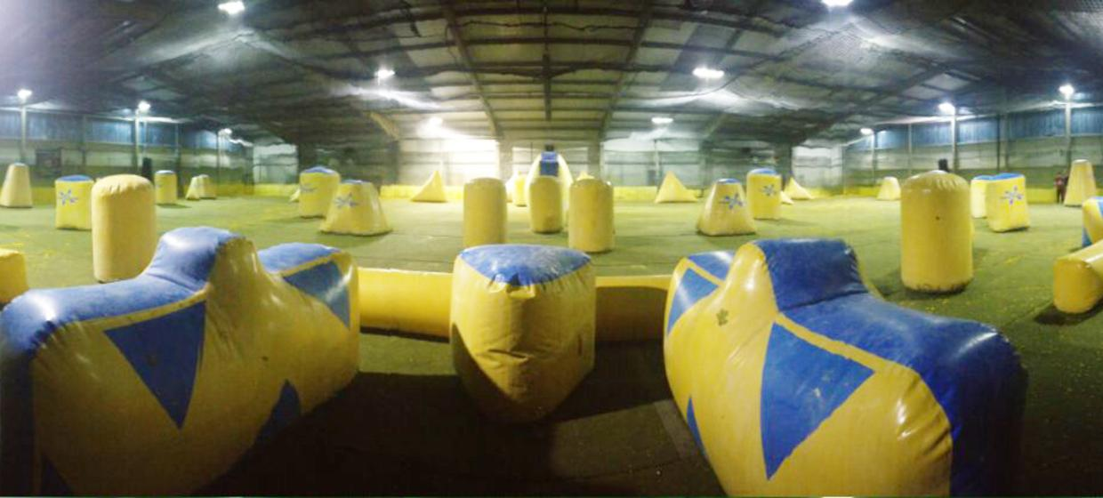 Indoor Paintball 1