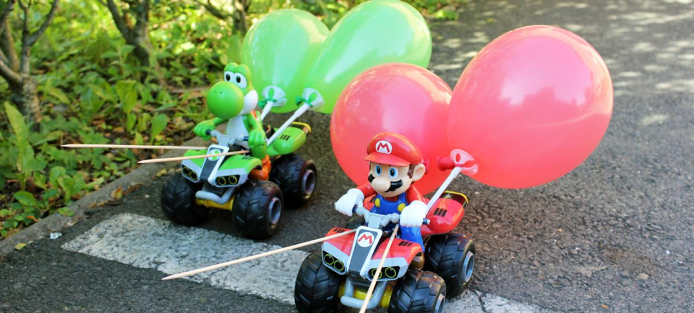 Mario Kart Battle 1