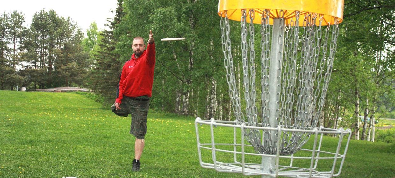 Frisbeegolf 1