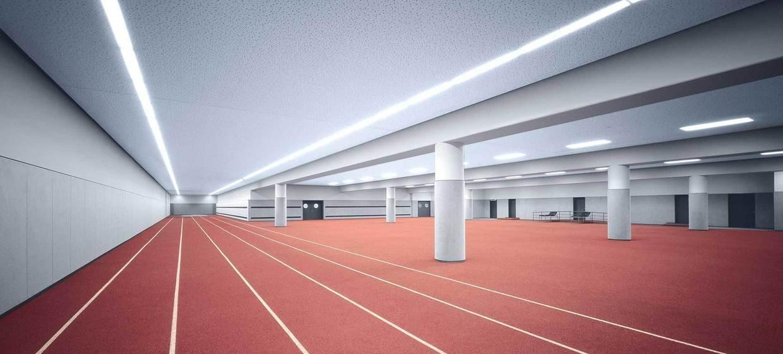 Sport Area im Olympiastadion 1