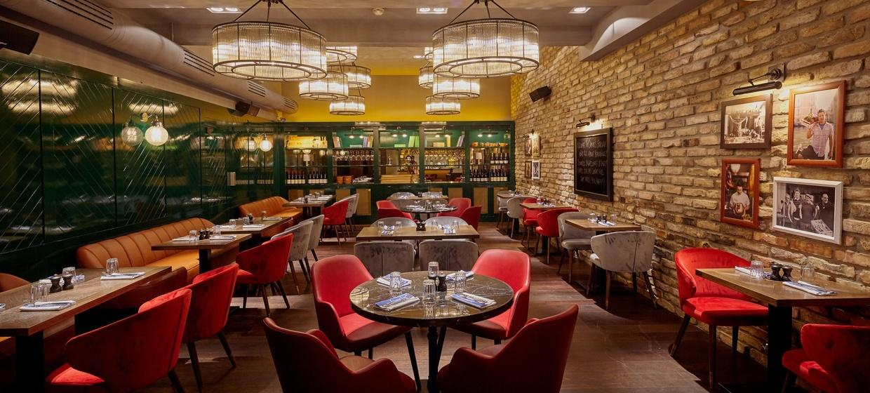 Private Dining @ Jamie Oliver Wien 1