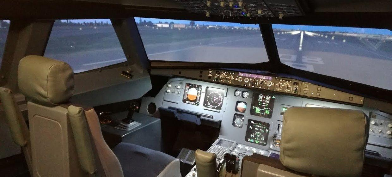 JetSim A320 Flugsimulator 4