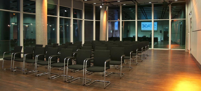 The Multimedia Stage im Tech Gate Vienna 4