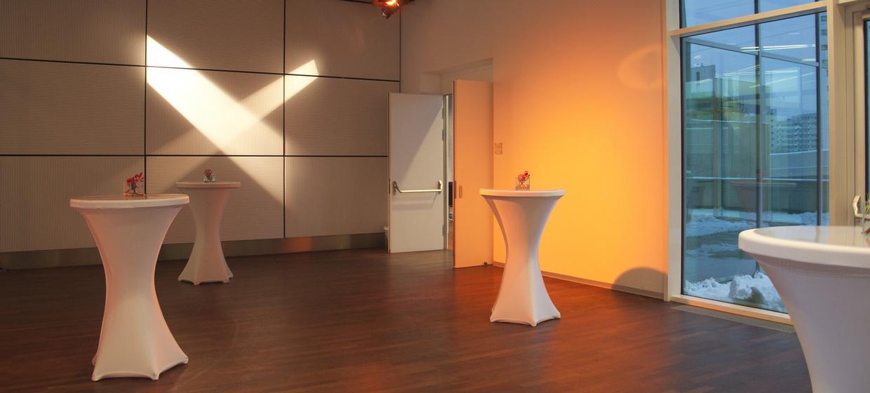 The Multimedia Stage im Tech Gate Vienna 5