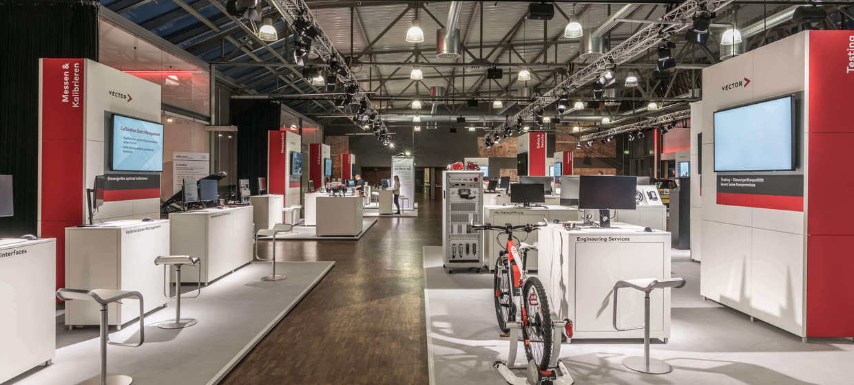 Legendenhalle in der MOTORWORLD 5