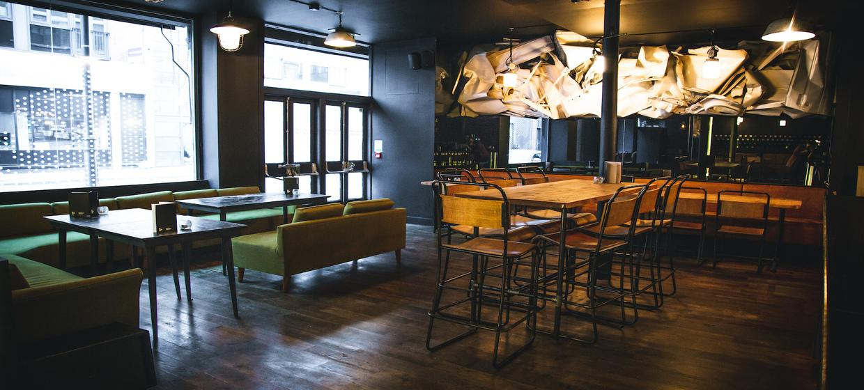 A bold and unique venue in the heart of East London 3