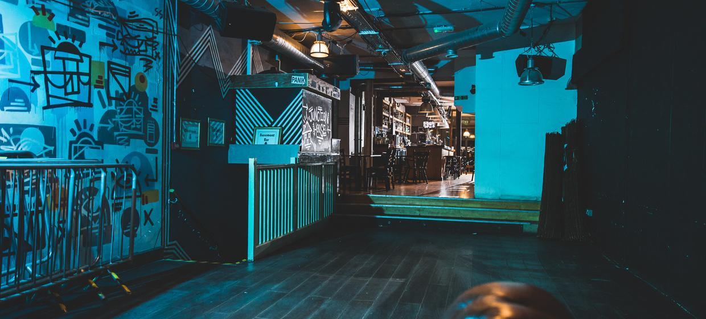 Flexible underground event space  1