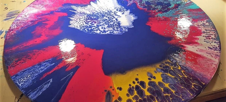 Spin Painting für Familien, Freunde und Paare 6