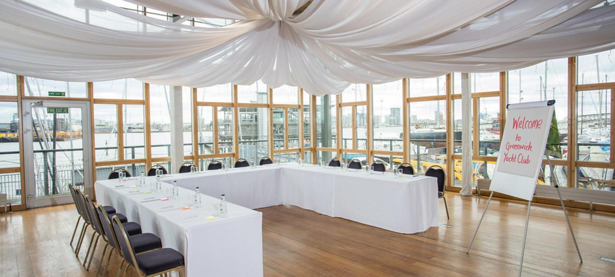 Purpose Built Event space with panoramic river views 5