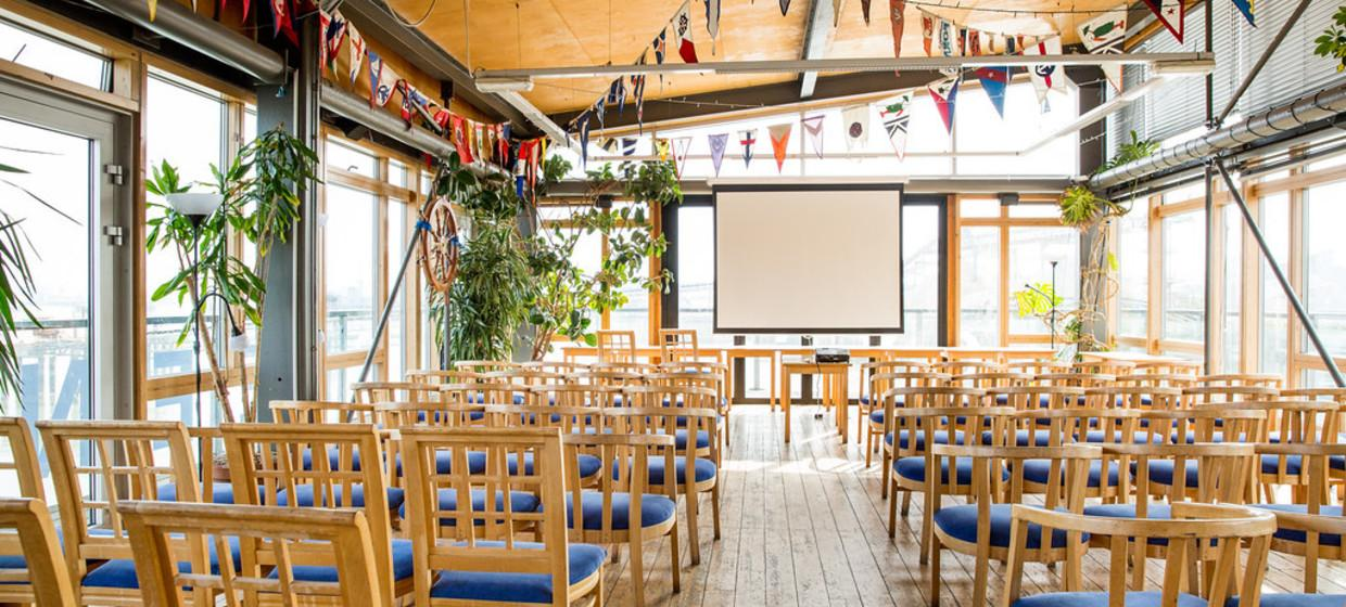 Purpose Built Event space with panoramic river views 3