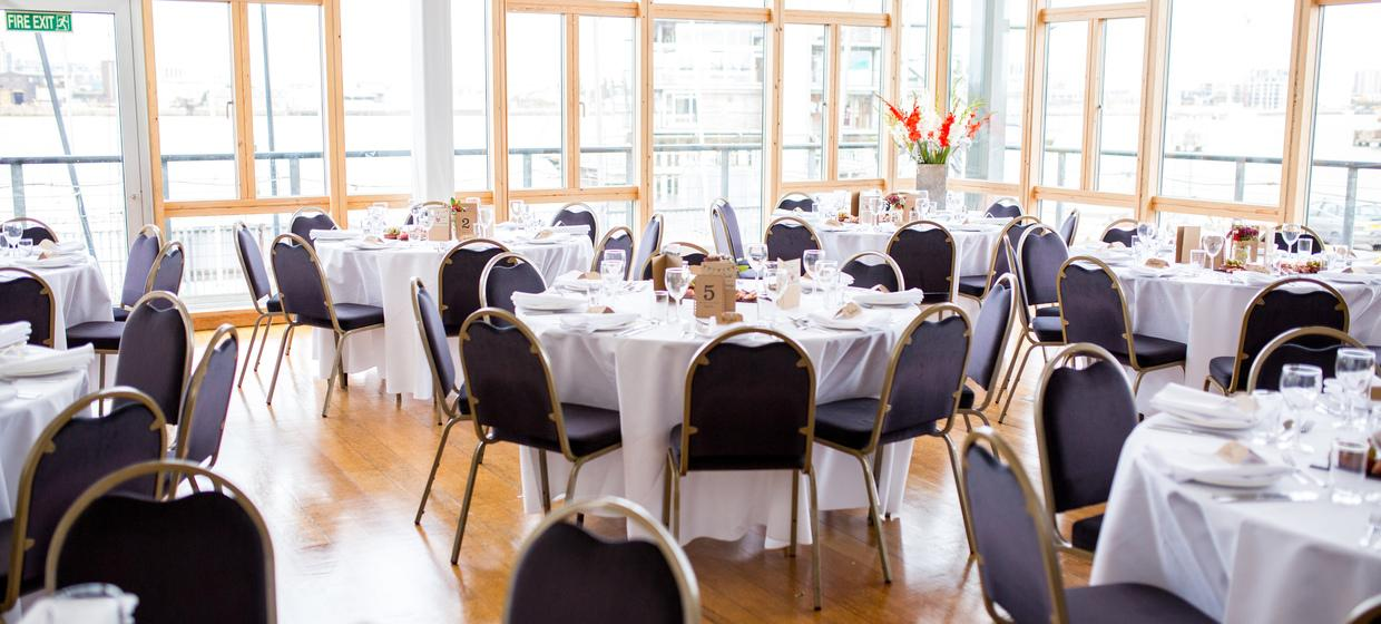 Purpose Built Event space with panoramic river views 11