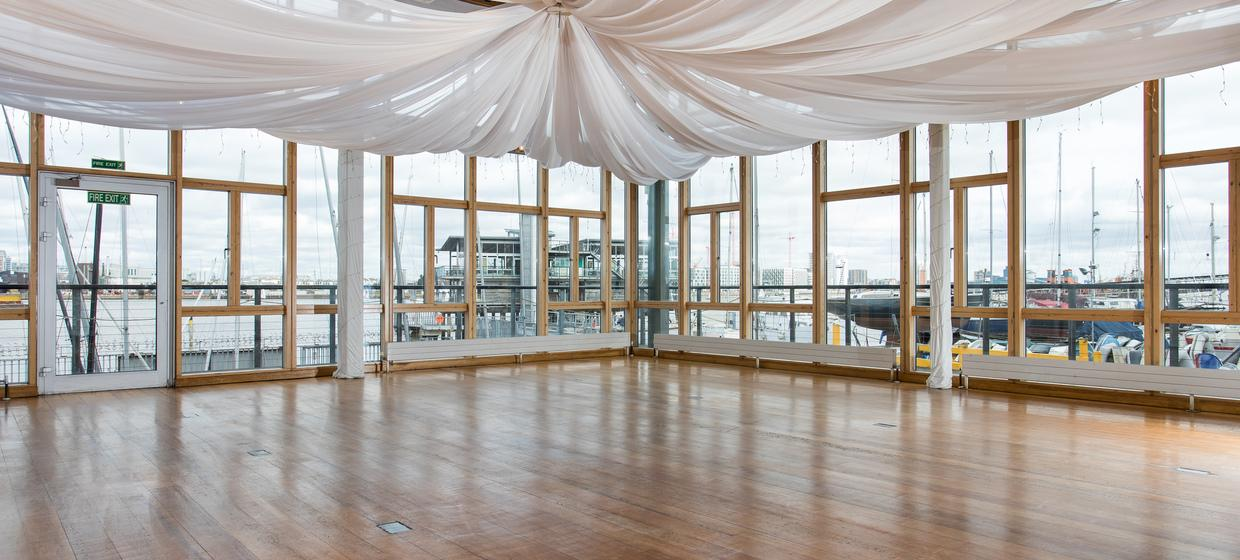 Purpose Built Event space with panoramic river views 12