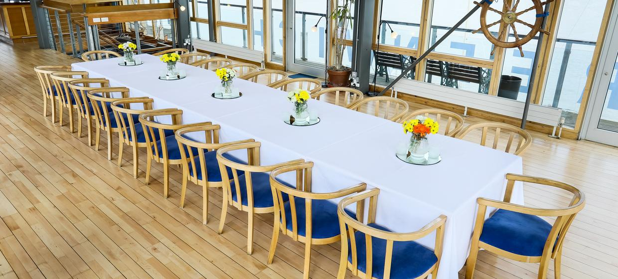 Purpose Built Event space with panoramic river views 13
