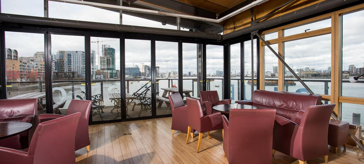 Purpose Built Event space with panoramic river views 14