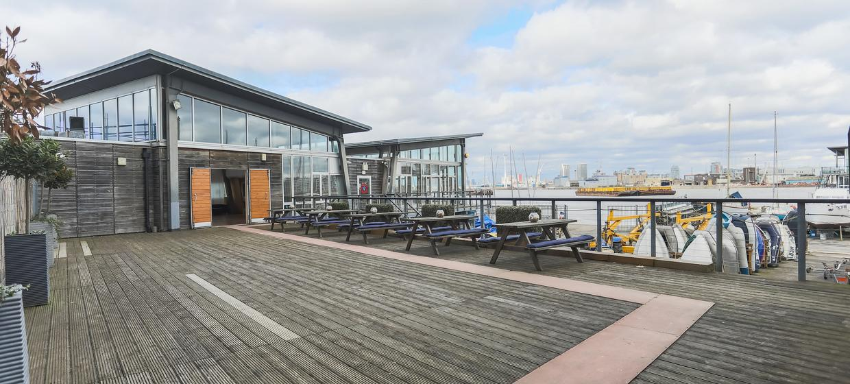 Purpose Built Event space with panoramic river views 15