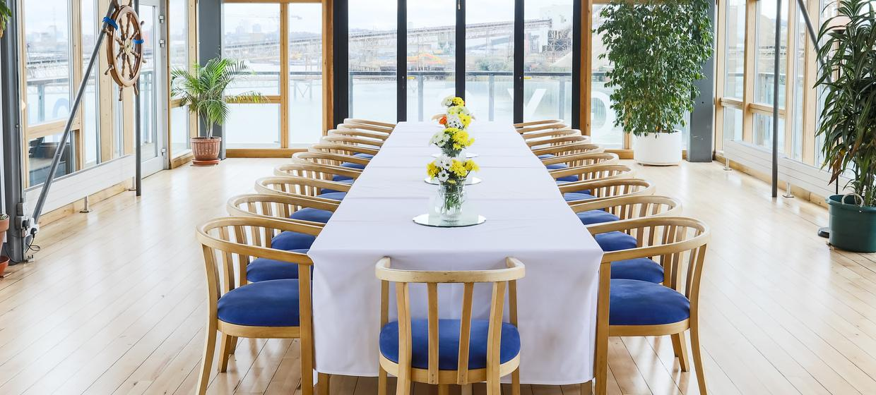 Purpose Built Event space with panoramic river views 18