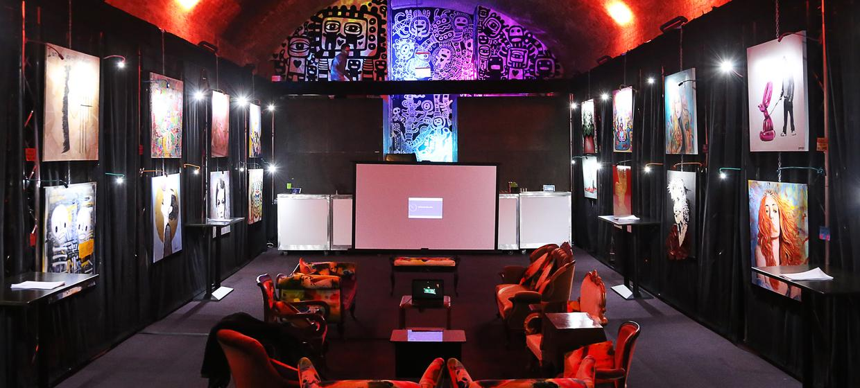 Event space with immersive technology 4