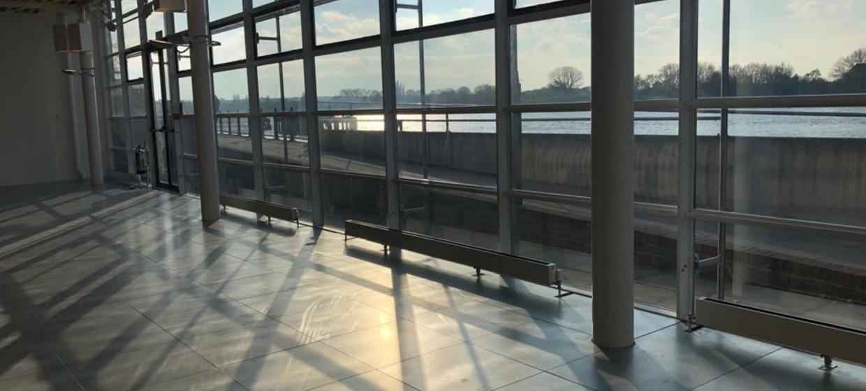 Bright and open riverside event space  3