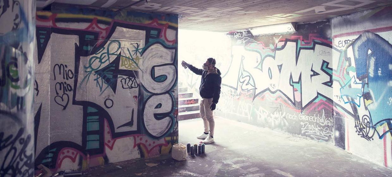 Graffiti sprayen  1