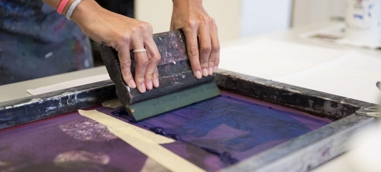 Siebdruck Workshop 1